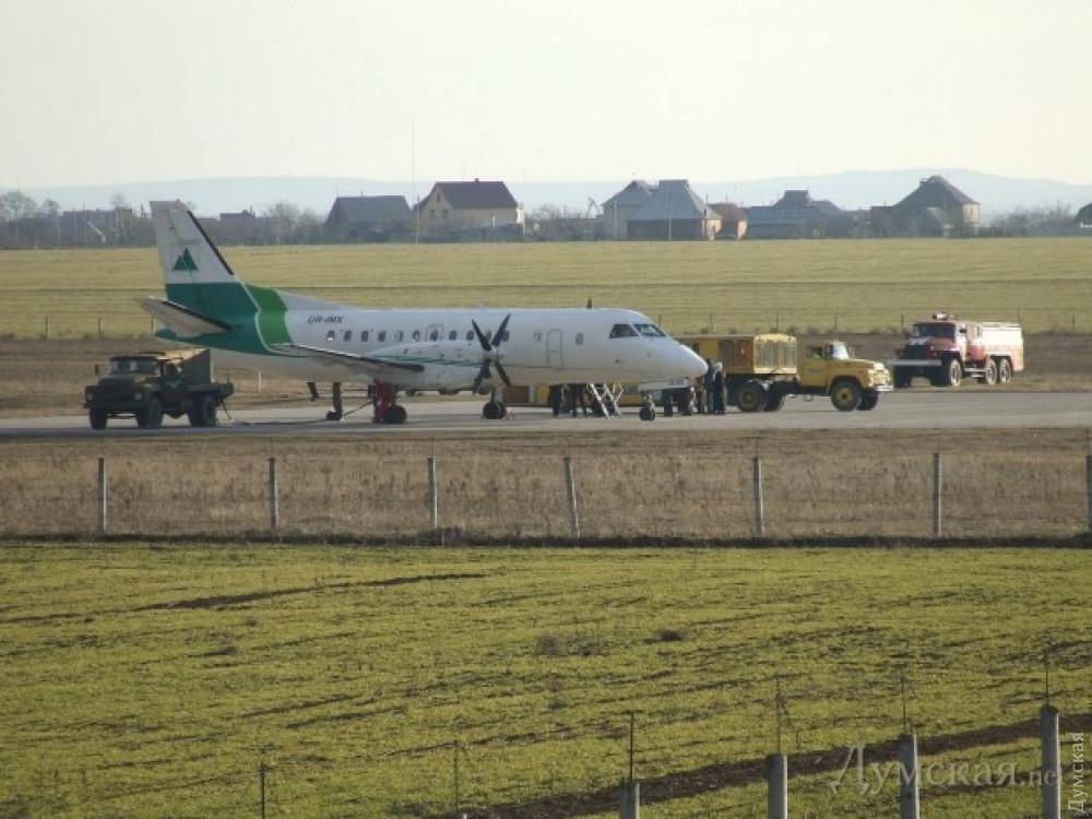 Измаильский аэропорт отводит землю