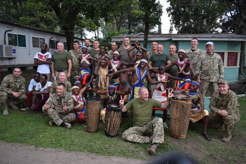 У 18 вертолетного отряда в Конго прошла ротация