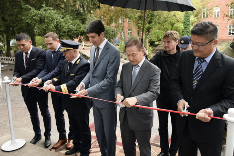 Корейская компания открыла представительство в Кропивницком