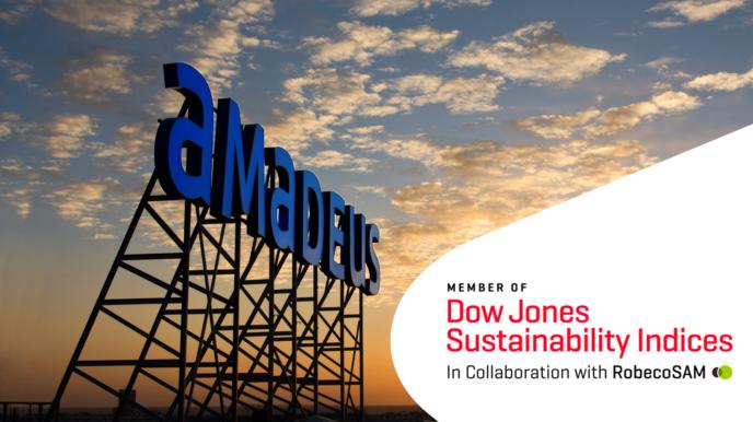 Amadeus 7-й раз включен в индекс устойчивого развития Доу-Джонса