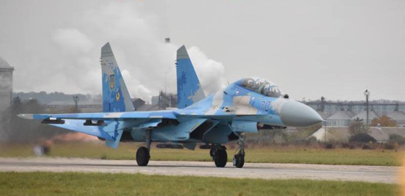 Названа вероятная причина падения Су-27