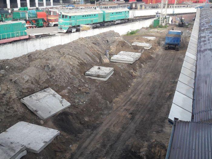 В Борисполе уже построили ж/д платформы для поездов из Киева