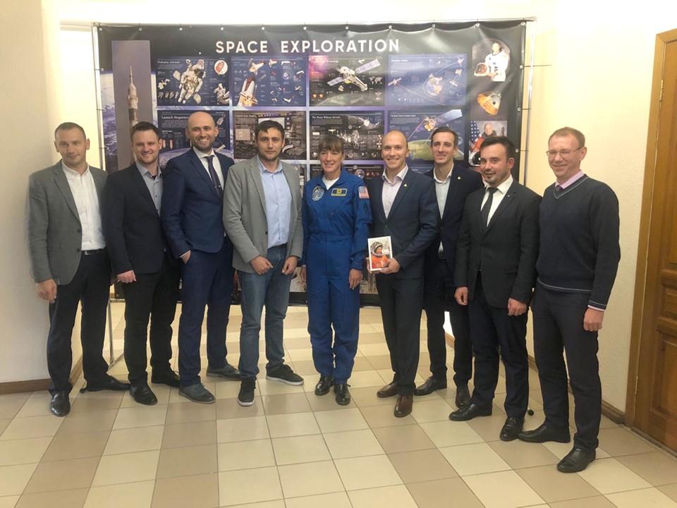 Встреча с астронавткой
