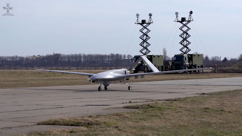 Bayraktar проходит финальные испытания в Украине
