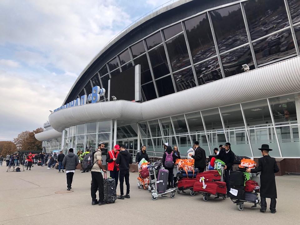 В 2019 аэропорт Борисполь обслужил 192 рейса по хасидской программе