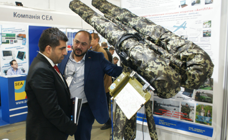 НАУ представляет свои разработки на выставке «Оружие и безопасность -2019»