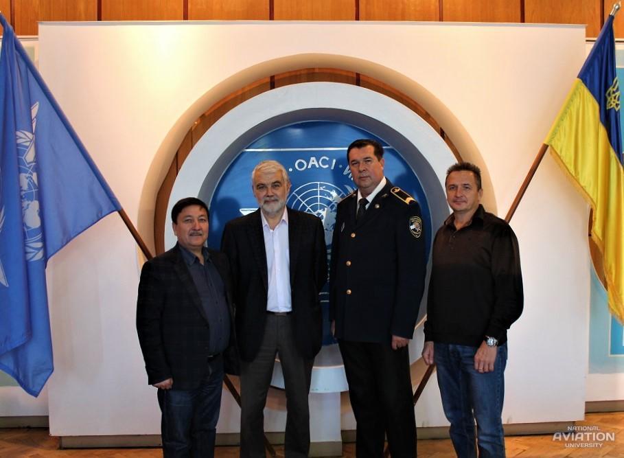В НАУ развивают сотрудничество с Казахстаном