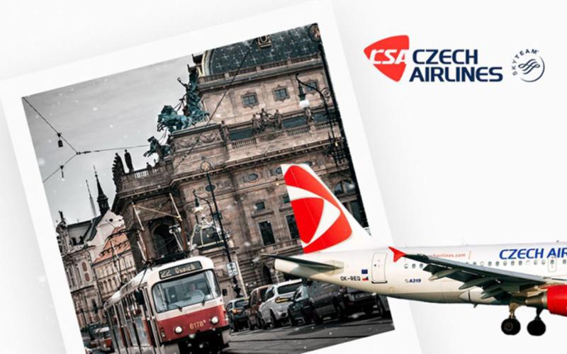 Чешские авиалинии продолжили график перелетов из Одессы