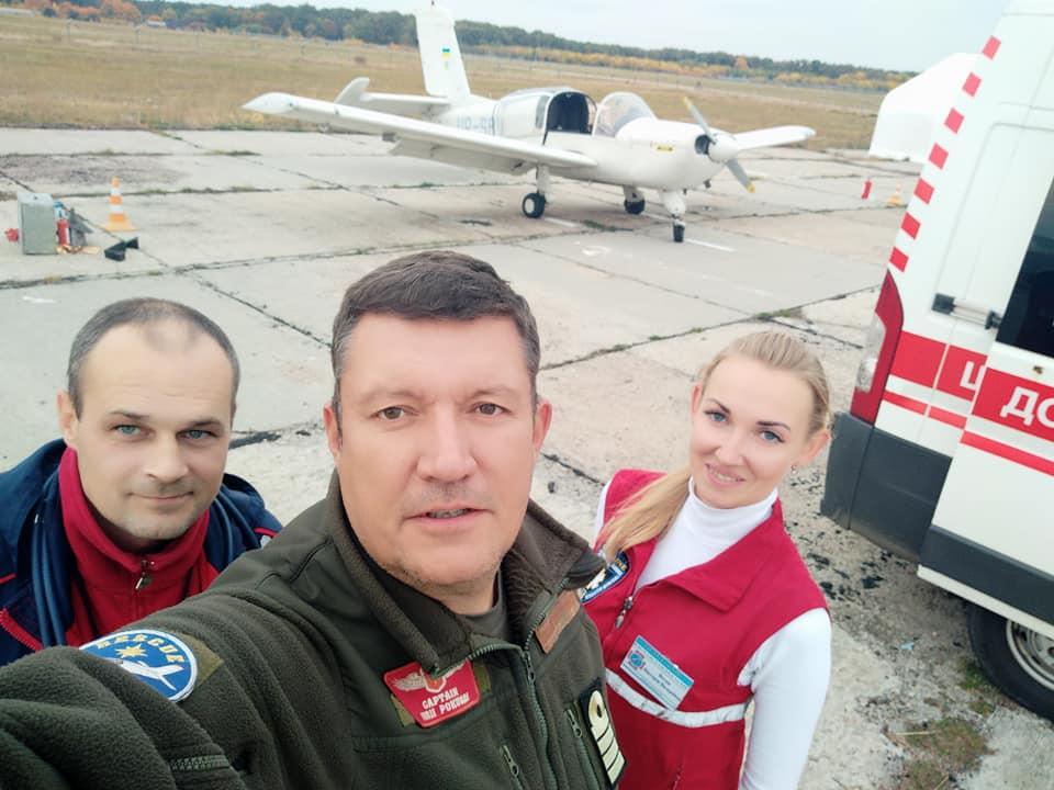 Гражданский воздушный патруль снова спешит на помощь