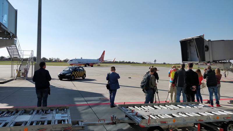 Львов принял первый рейс из Праги