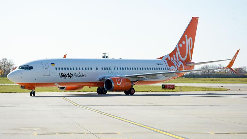 SkyUp Airlines осуществит ряд специальных коммерческих рейсов
