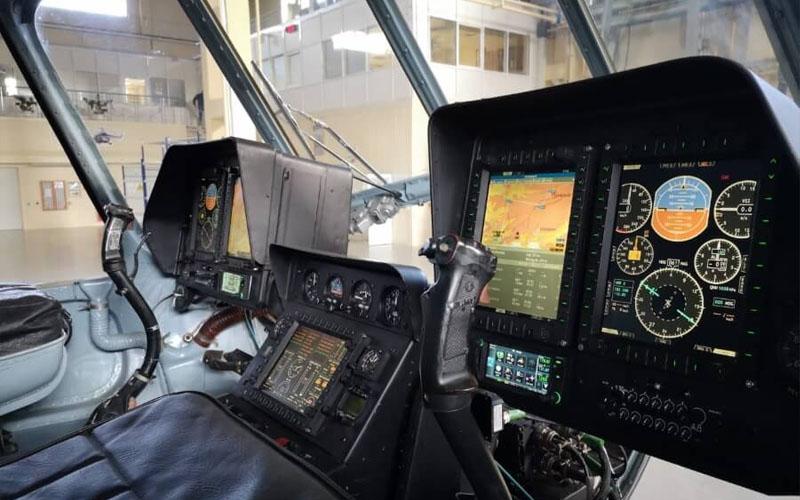 На выставке в Киеве покажут «стеклянную кабину» для Ми-8МСБ