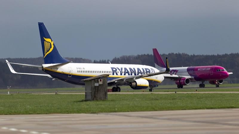 Wizz Air не боится конкуренции с Ryanair в Украине