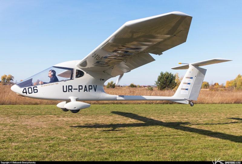 Самолет Аэропракт А-40 установил своеобразный рекорд