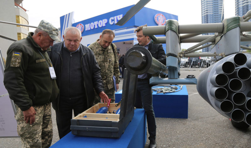 Армейские авиаторы на «Оружие и безопасность -2019»