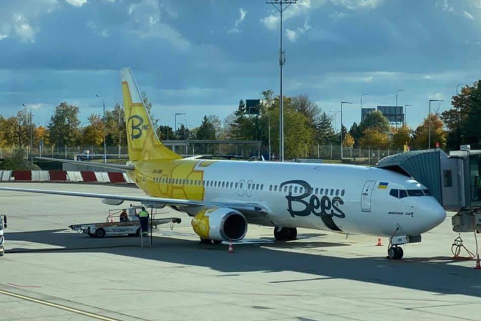 Bees выполнила первый рейс из Одессы в Прагу