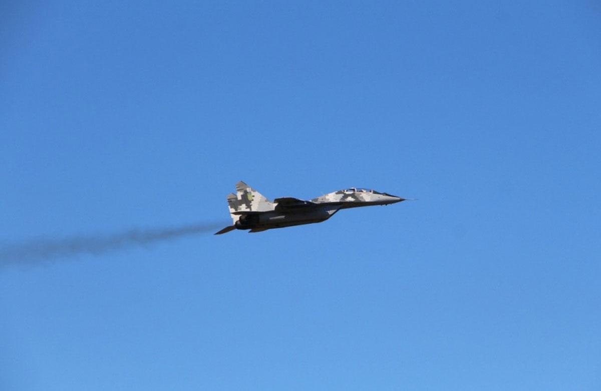 МиГ-29 готовы к ведению воздушного боя днем и ночью