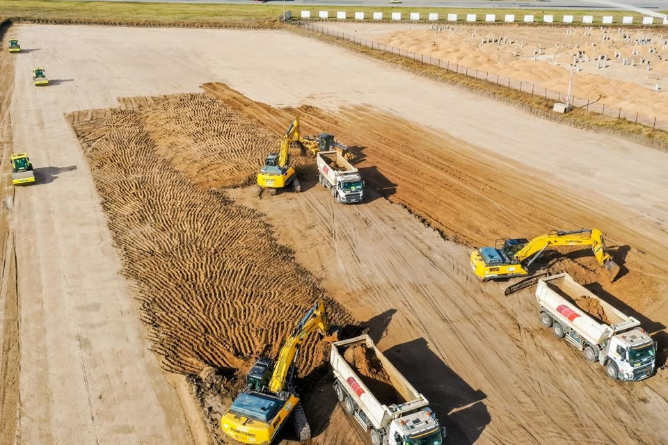 Onur Construction начала работы в аэропорту Днепра