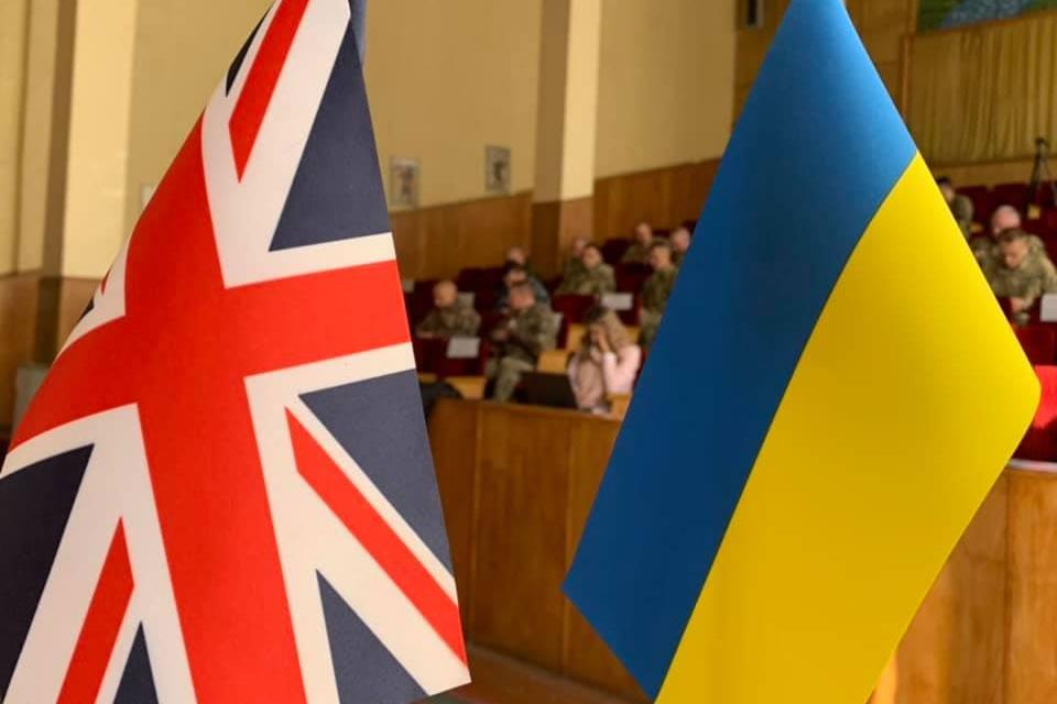 В Василькове начались украинско-британские учения