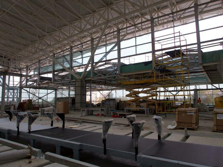 """Пропускная способность терминала """"D"""" Борисполя вырастет на 100%"""