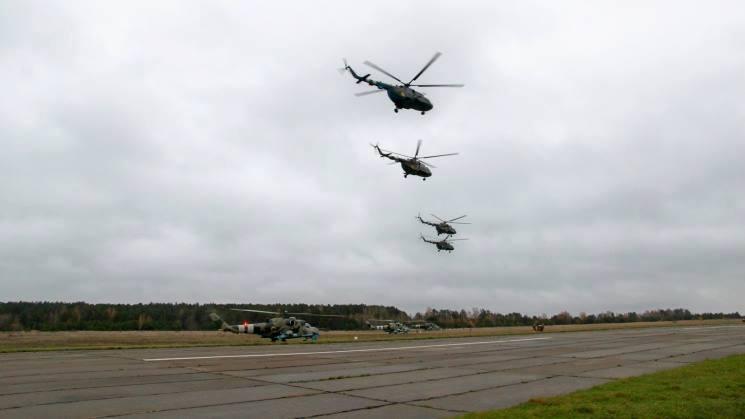 Стали известны лучшие вертолетные звенья армейской авиации