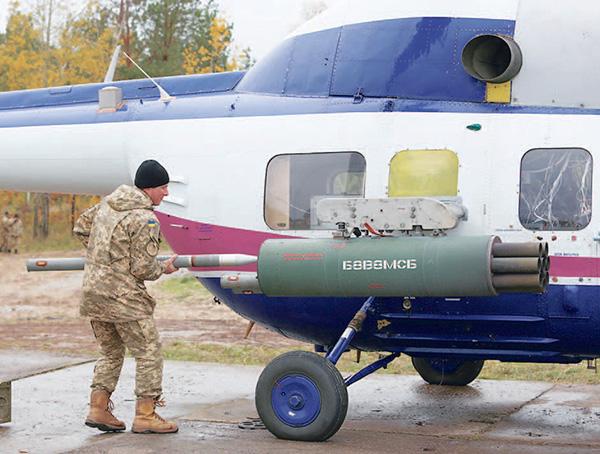 """Украинские вертолеты """"примеряют"""" новое вооружение"""