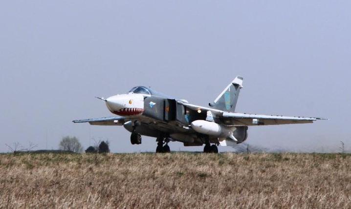В бригаде тактической авиации имени Петра Франко состоялись две летные смены
