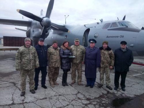 Еще один отремонтированный Ан-26 вернется на авиабазу