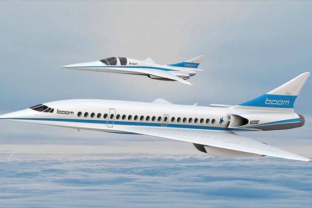 В Дубае представлен уникальный сверхзвуковой пассажирский самолёт