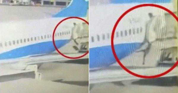 Еще одна стюардесса китайской авиакомпании выпала из самолета