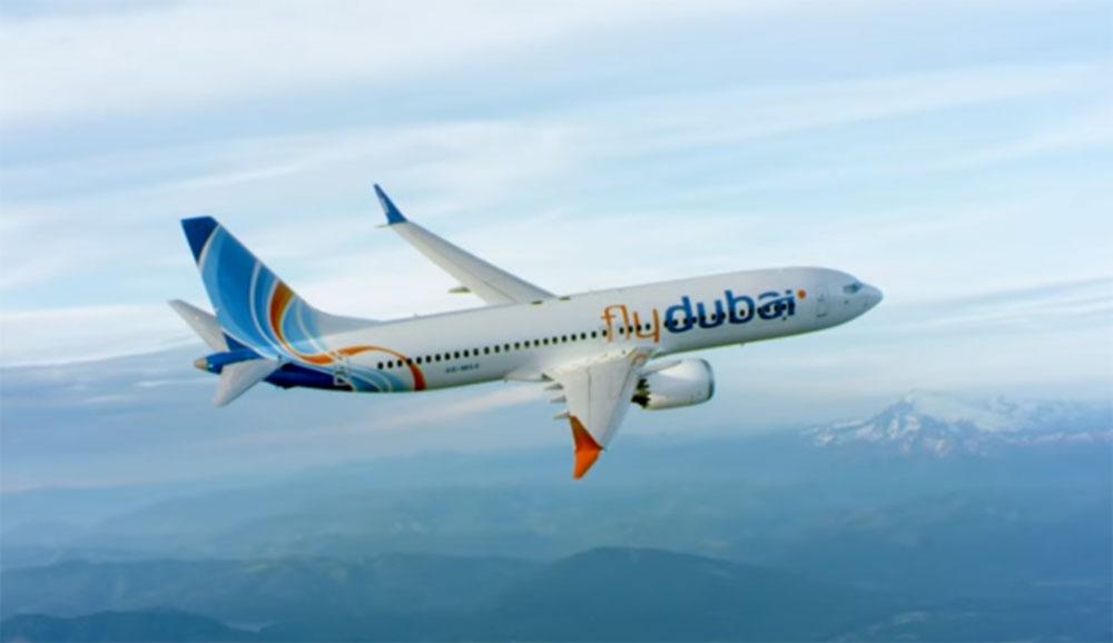 flydubai представляет свой первый самолет Boeing 737 MAX 8 на Дубайском Авиашоу