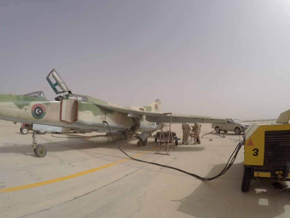 СБУ обвиняет группу украинцев в незаконном ремонте военной авиатехники в Африке