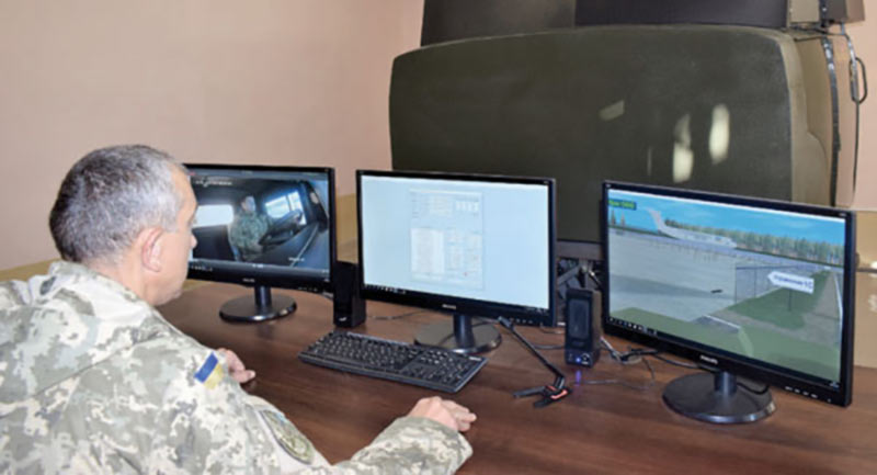 Качество подготовки специалистов Воздушных Сил улучшают, используя технологии виртуальной реальности