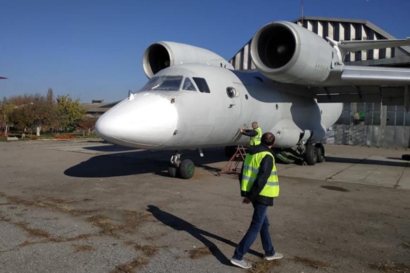 Одесская таможня показала «потерянный» самолет и дала пояснения