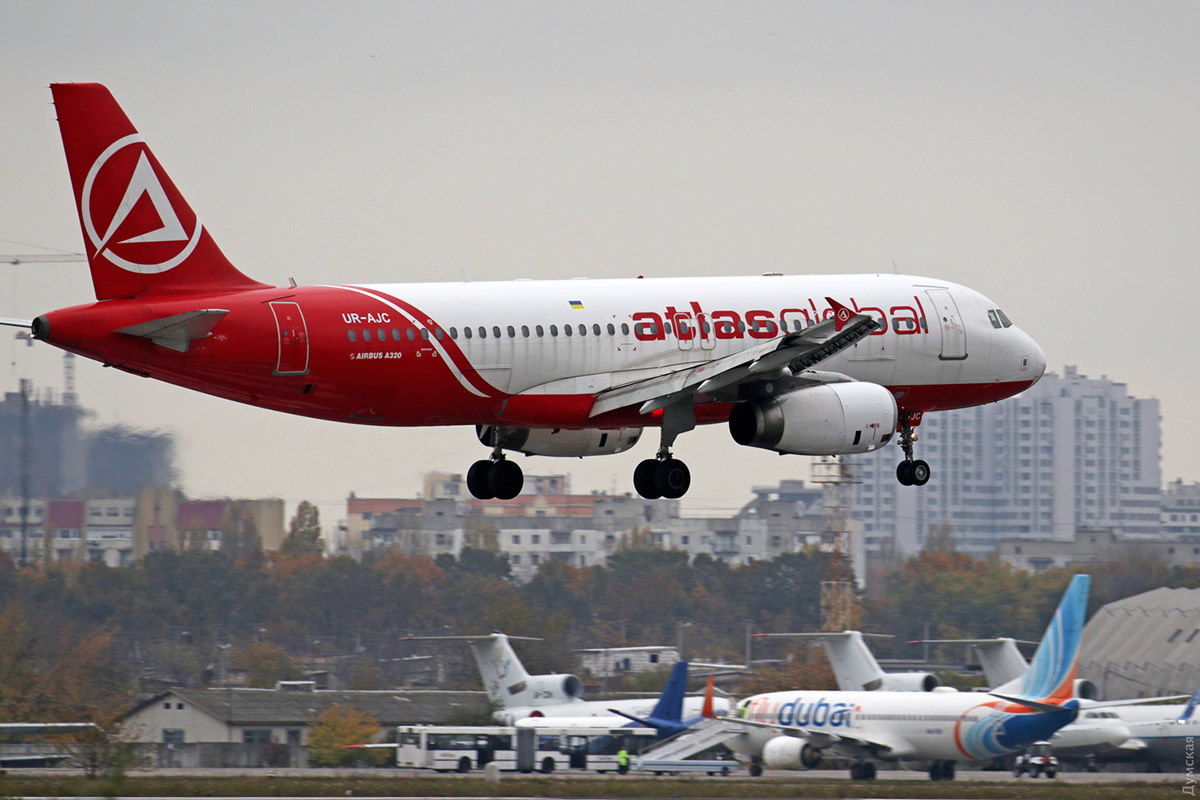Atlasjet Ukraine возобновит рейсы из Одессы в Стамбул