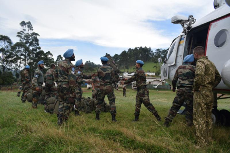 Наши вертолетчики в Конго выполнили очередную задачу