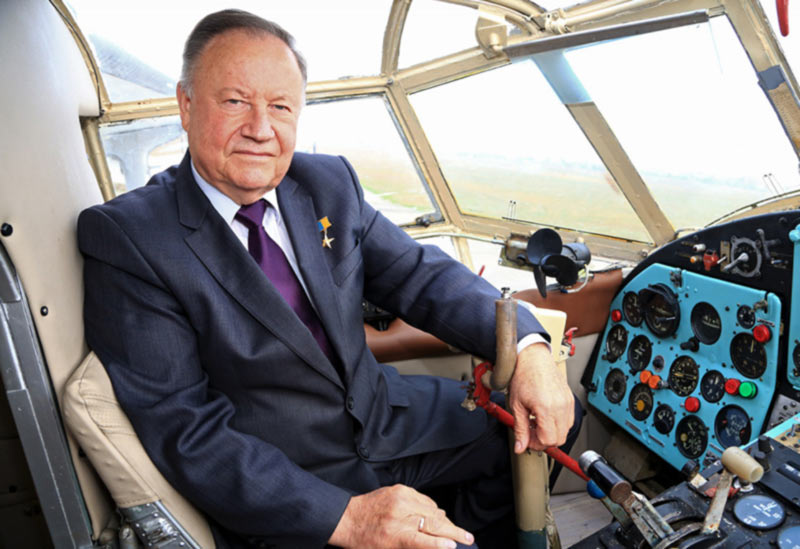 Первый Герой Украины об испытаниях самых больших самолетов планеты