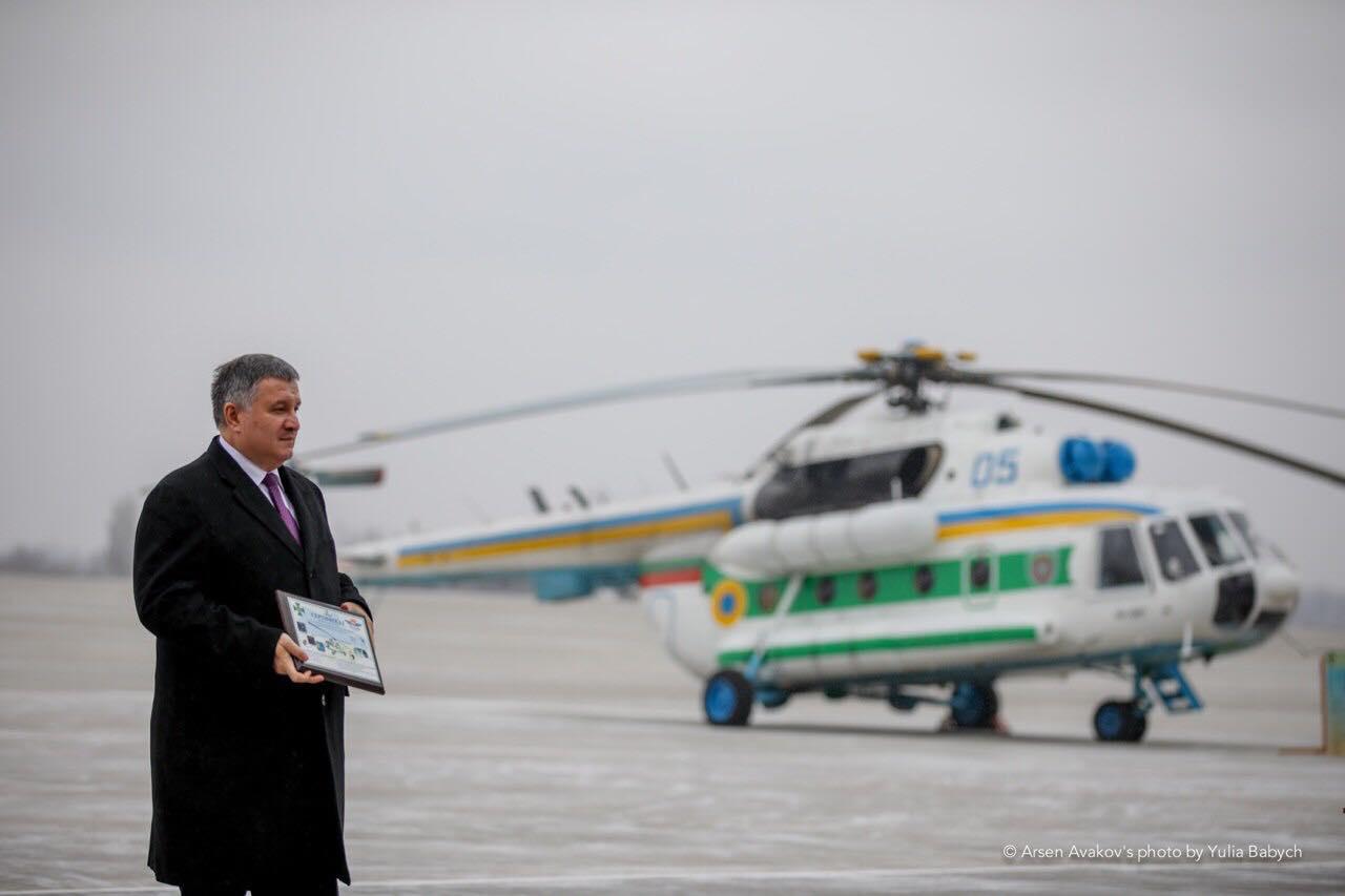 Пограничники получили модернизированные вертолеты Ми-8
