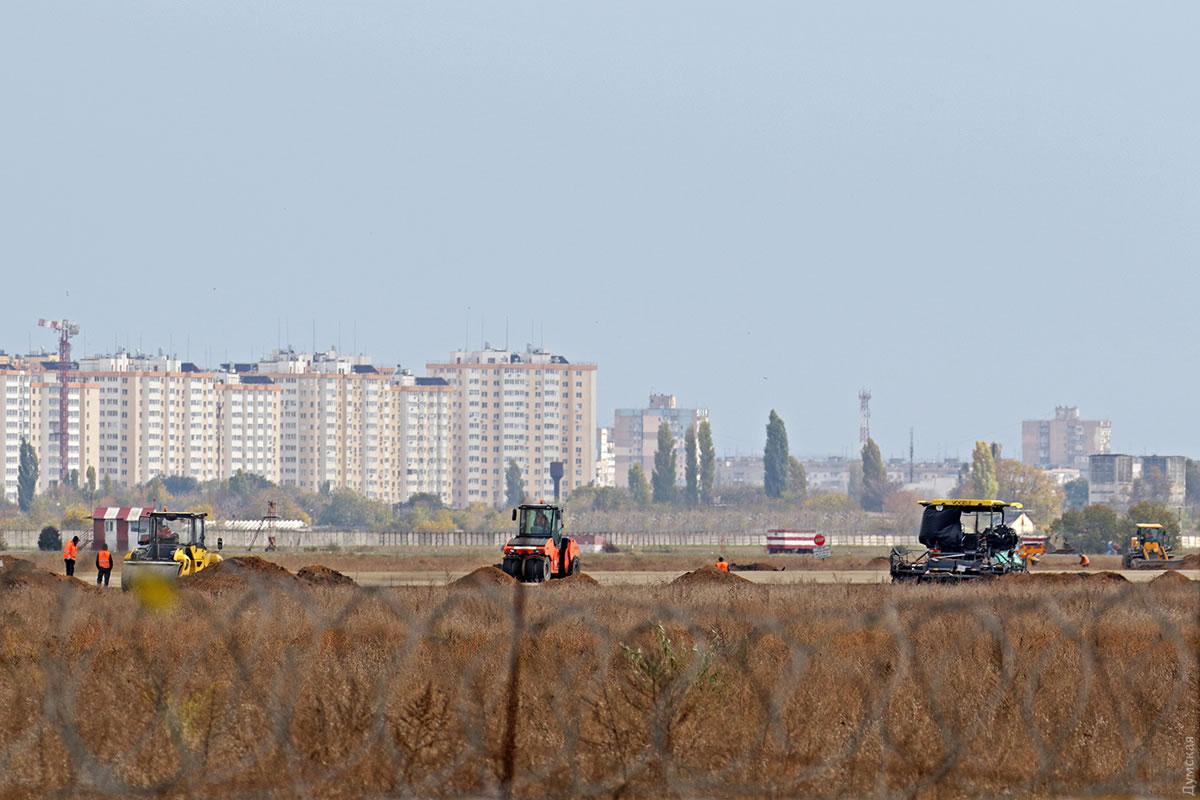 До конца года ВПП в Одессе завершить не успеют