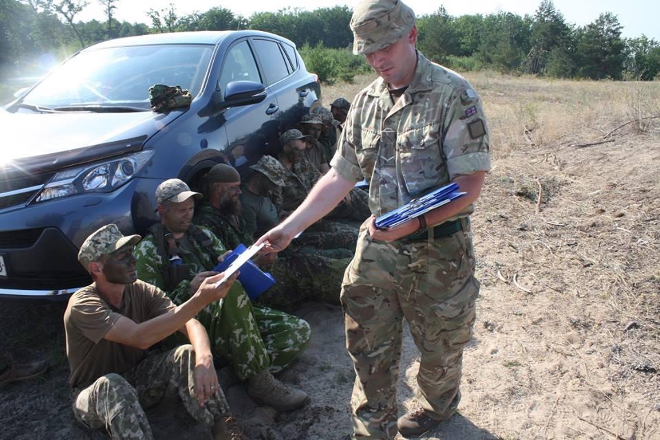 Британские инструктора будут готовить воинов Воздушных Сил Украины