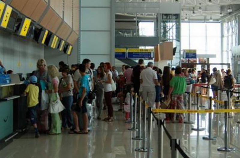С начала года пассажиропоток через украинские аэропорты вырос почти на 24%