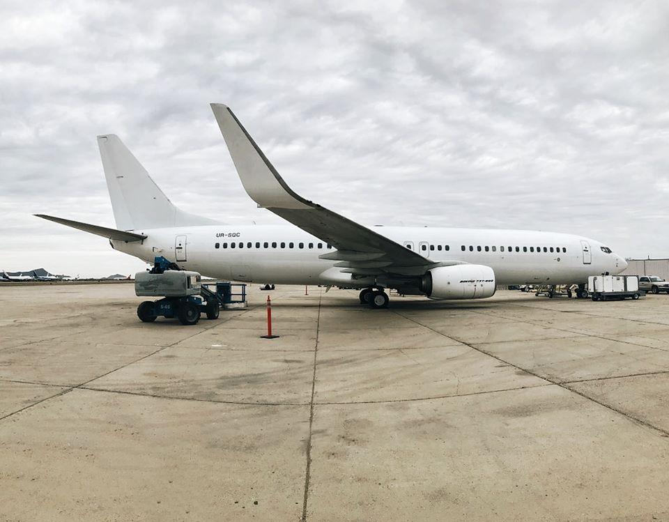 SkyUp получила четвертый самолет