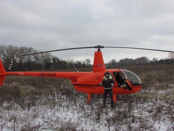 В Славутиче появились экскурсии на вертолете
