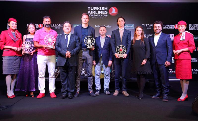 Эдвинас Рузгас одержал победу на Гранд Финале турнира по гольфу Turkish Airlines World Golf Cup среди любителей