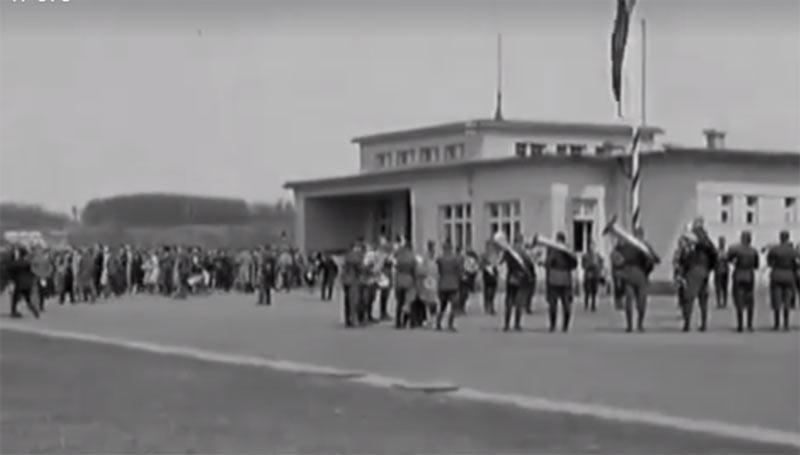 Как открывали Ужгородский аэропорт в 1929 году (видео)