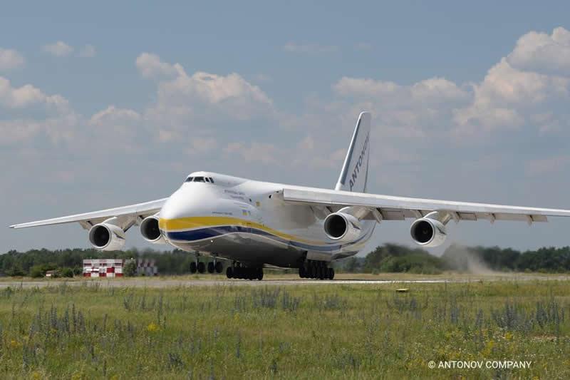 """""""Антонов"""" сообщил, что у Ан-124 в Бельгии повреждений не было"""