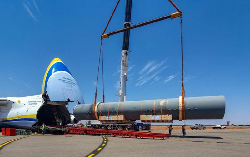 «Авиалинии Антонова» доставили оборудование из Франции в Австралию «от двери к двери»