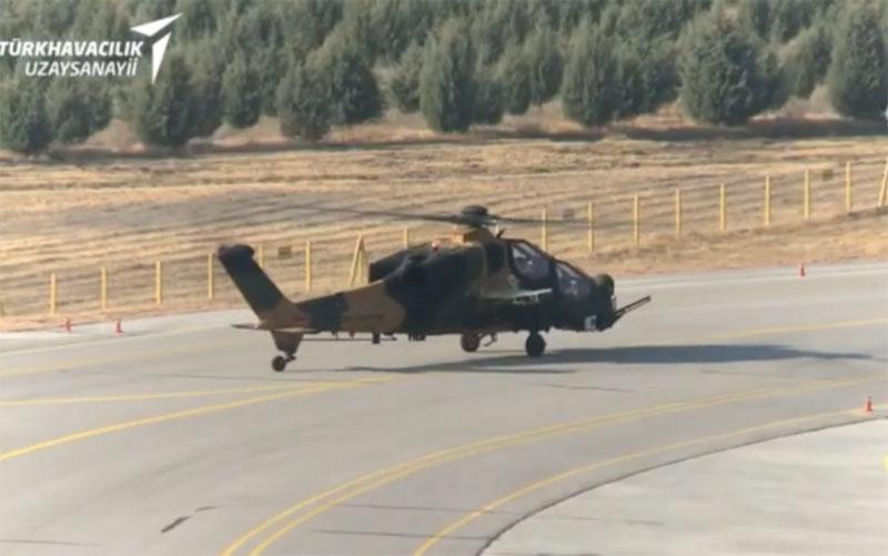 В Турции прошли первые испытания нового вертолета ATAK FAZ-2