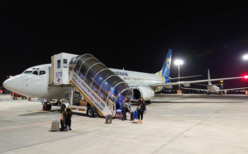 Украина  в ТОП-10 популярных авианаправлений из Израиля