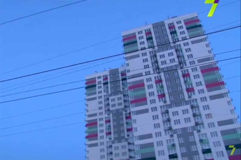 Одесская многоэтажка против самолетов